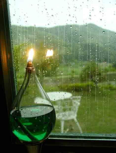 雨中 让心纯澈