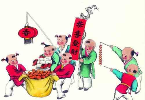 精选关于春节的作文集锦
