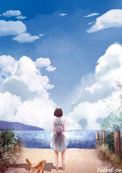 七月的天空
