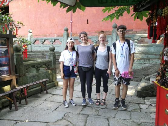 大学生走进道教圣地