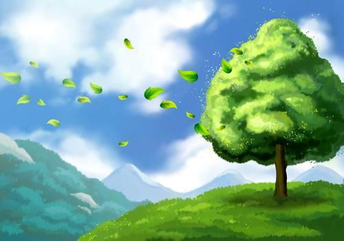 让我长成一棵树的地方