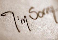 我欠朋友一个道歉