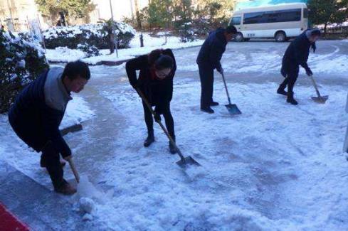 关于铲雪的作文