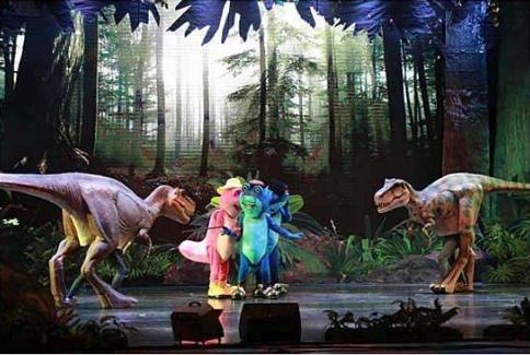 乐于助人的百变恐龙
