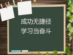 学习励志句子2020精选