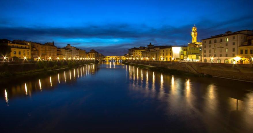 佛罗伦萨的黄昏